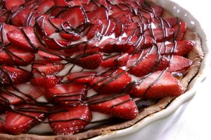 Strawberry Cream Cheese Tart by maytel