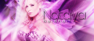Natalya Signature Banner by Cool119