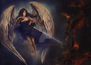 Angel and Demons 2 by Sisterslaughter165