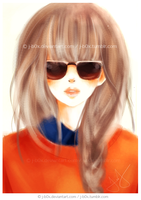 Orange Sweater by j-b0x