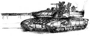 T 95 Blackeagle sketch by fish333