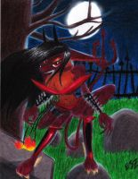 Demonic Succubus by TheTweedleTwins