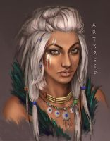 Tribal Character by ArtKreed
