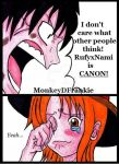One Piece - RufyxNami is canon! by MonkeyDFrankie