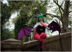 _Morrigan Aensland_ by VictoriaRusso