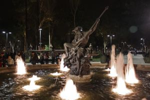 The Neptune Fountain by ARLEQUINLUST