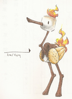 Hungry Birds Contest Entry - Campfire by tk36477