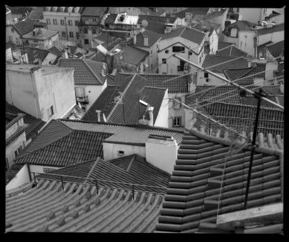 A Sea of rooftops by Roger-Wilco-66