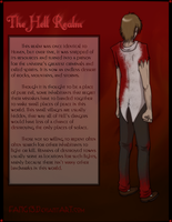 Hell Realm info sheet by Ocrienna