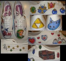 LoZ: OoT Shoes by SomebodysDollBaby