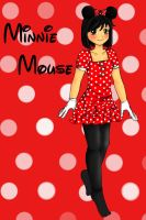 Minnie Mouse Outfit by Aisuki-Chan