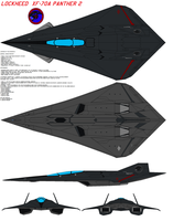 Lockheed  XF-70A Panther 2 by bagera3005
