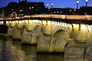 Random Bridge in Paris by Markuslajer