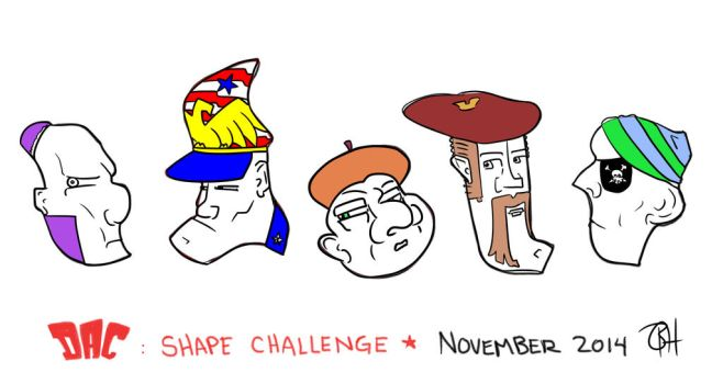 November Shapes 2014 by ooka