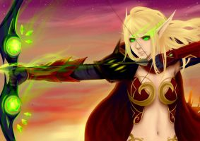 Blood Elf by Neneko-sama