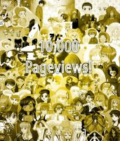 10,000 PAGEVIEWS by dimensioncr8r