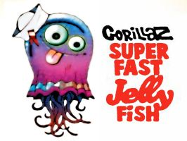 Super Fast Jellyfish Wallpaper by GODWHACKERSTEELY
