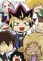 YGO- My Favorite Characters by BladeXD