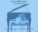 Love is like music by Pheyros