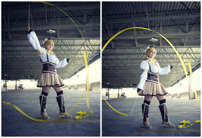 Mami Tomoe: Ribbons by DMinorChrystalis