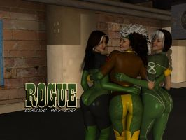 3 Rogues Wallpaper by ImfamousE
