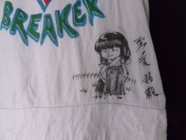 my SessKik T-shirt - front by jiegengDai