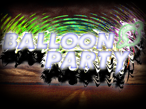BALLOON PARTY Wallpaper 4 by WolfOfSadness