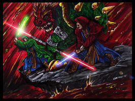 Super Jedi Brothers by ShannonRitchie