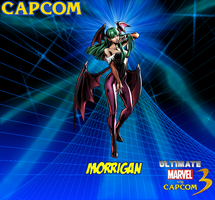 Morrigan New Wallpaper by CrossoverGamer