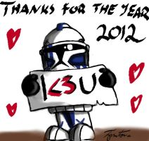 Thanks for the year 2012!!! by Tipsutora