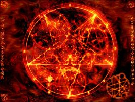 DOOM 3 pentagram by c9s