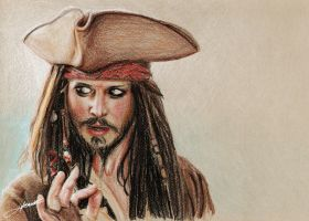 Johnny Depp II by fernandasabaudo