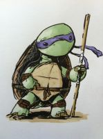 Donatello by grizlyjerr