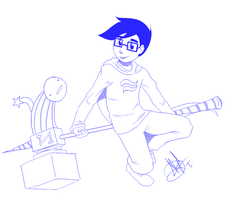 John Egbert by AleishaDreams