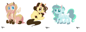 MLP point adopts by SofielRuesDeLartiste