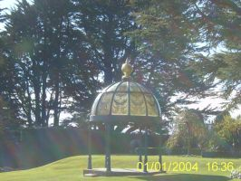 Gazebo at Larnach by KnightsNymph