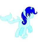 MLP OC - Tidal Wave [Gift] by StarlightRaven14