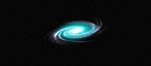 Blue and Purple spiral Galaxy by NathTheMirv