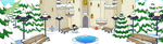 (F2U) Fantage Outside Castle 2014 Background by Fario-P