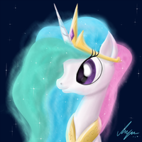 Speedish Paintish Celestia by SameAsUsual
