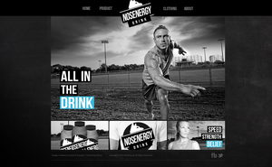 Mock-up Design - NOSENERGY by noludesigns