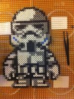 Perler beads Stormtrooper Star Wars by L000lz