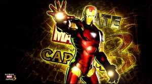 Ultimate marvel vs capcom 3 iron man by KaboXx