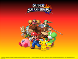 Super Smash Bros. - Great Eight Wallpaper by Venofoot