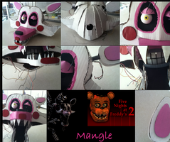 the Mangle FNAF2 by SteampunkTimetravelr