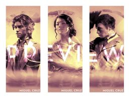 The Infernal Devices Bookmarks by Miguel Cruz by miguelm-c