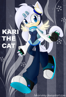 Kari the cat (Sonic the hedgehog OC) by hikariviny