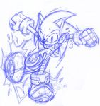 Striker Charged Sonic-redone by CKT-INC
