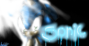 Sonic... by andreahedgehog