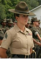 Senior Drill Instructor USMC by godlived